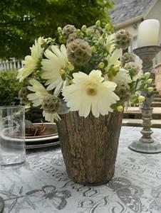 Coole Gartendeko Selber Machen : coole deko ideen 21 selbst gemachte baumstumpf vasen ~ Orissabook.com Haus und Dekorationen