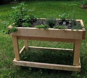 Construire Potager Surélevé : pour construire un bac aromatiques qui ressemble celui ci cliquez ici arts garden boxes ~ Melissatoandfro.com Idées de Décoration