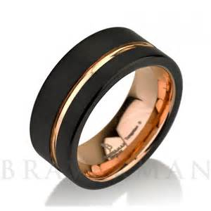 tungsten carbide mens wedding bands black tungsten ring gold wedding band ring tungsten 9mm 18k tungsten ring band