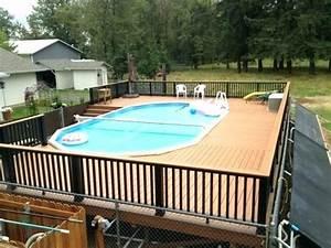 Terrasse Piscine Hors Sol : terrasse en bois pour piscine hors sol fabulous piscine ~ Dailycaller-alerts.com Idées de Décoration