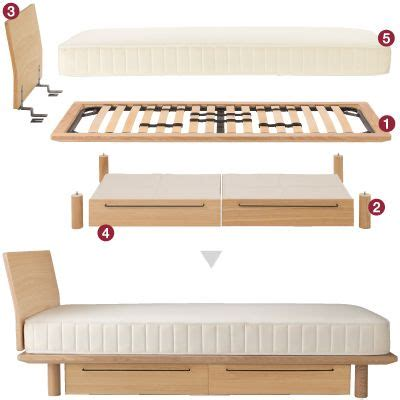canapé lit muji 13 best objet images on 3 4 beds bedding and