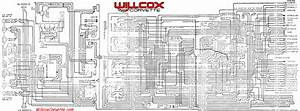 1969 Corvette Wiring Diagram Main And Engine Compartment Correct  Tracer Schematic