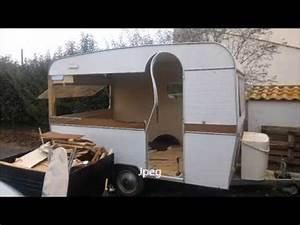 Fabriquer Mini Caravane : fabriquer une remorque avec un chassi caravane partie 1 youtube ~ Melissatoandfro.com Idées de Décoration