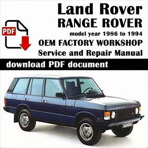 Service  U0026 Repair Workshop Manual Fits Classic Land Rover