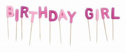 Birthday Candles Clipart Transparent Format
