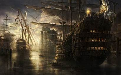 Ship Sea Wallpapers Desktop Background Backgrounds Px
