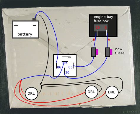 how to wire drl to fuse box 27 wiring diagram images