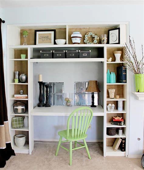 bureau pratique et design les étagères en tant que mobilier de bureau créatif