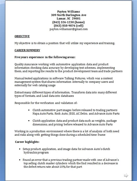 Z Resume by Catalog Specialist Resume Format In Word Free