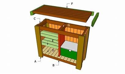 Bar Plans Outdoor Diy Shed Build Building