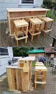 Bar Aus Holzpaletten : einfache diy ideen f r gebrauchte holzpaletten einfache ~ A.2002-acura-tl-radio.info Haus und Dekorationen