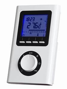 Thermostat Programmable Sans Fil Radiateur Electrique : nouveau thermostat ir prog acova programmation ~ Premium-room.com Idées de Décoration