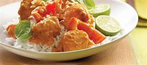 Thai Curry Chicken with Red Bell Peppers recipe | Dairy ...