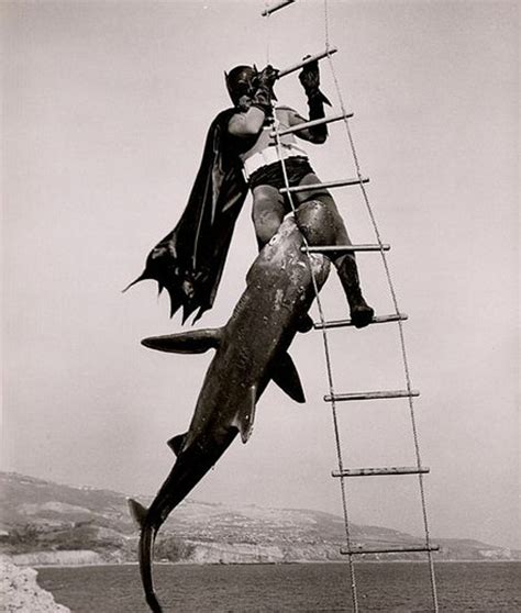 Why Does Batman Carry Shark Repellent?