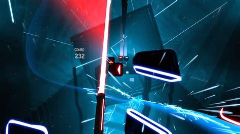 vr rhythm game beat saber announced  playstation vr
