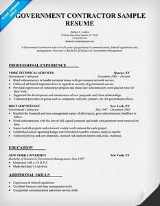 contractor resume resume badak With government contractor resume