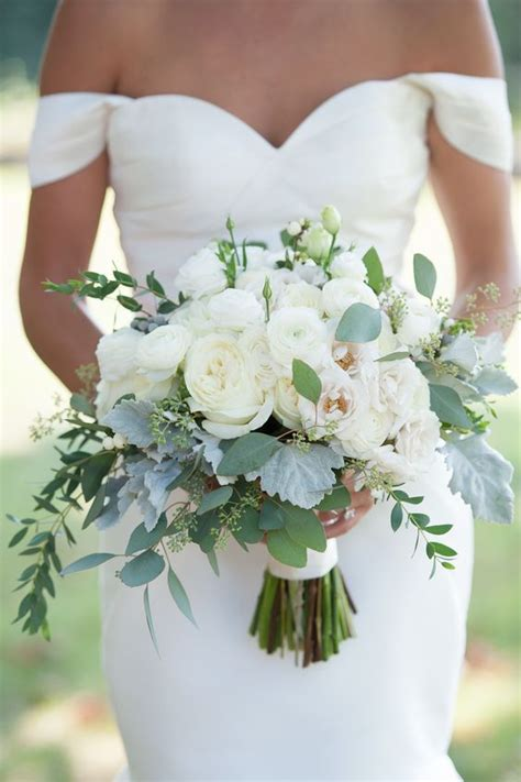 100 Romantic Spring And Summer Wedding Bouquets Eucalyptus