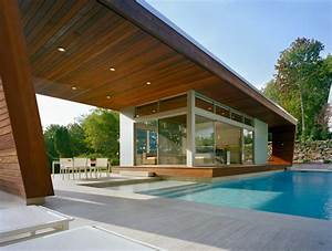 outstanding swimming pool house design by hariri hariri With house with swimming pool design