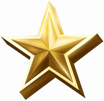 Transparent Star Gold Clip Background Deco Clipart