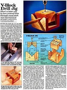 V-Block Drill Jig • WoodArchivist