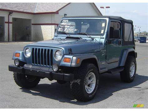 gunmetal blue jeep 1999 gunmetal pearlcoat jeep wrangler sport 4x4 8113127