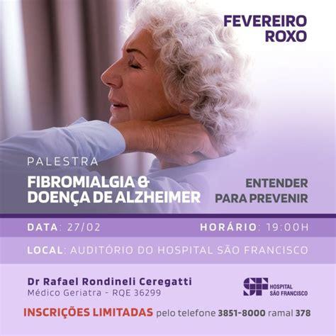 Fevereiro Roxo tem palestra sobre a doença de alzheimer e ...