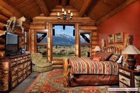 log cabin home decor bedrooms bathrooms