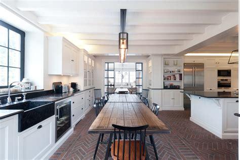 cuisine ouverte sur salle a manger plan de cuisine ouverte sur salle manger kitchen farmhouse