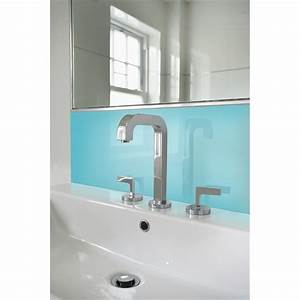 Vistelle 1200 x 300 x 4mm sky high gloss acrylic vanity for Bathroom wall panels bunnings