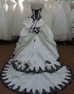 Robe De Mariée Noire : robe de mariee noir ou rouge et blanche sunny mariage ~ Dallasstarsshop.com Idées de Décoration