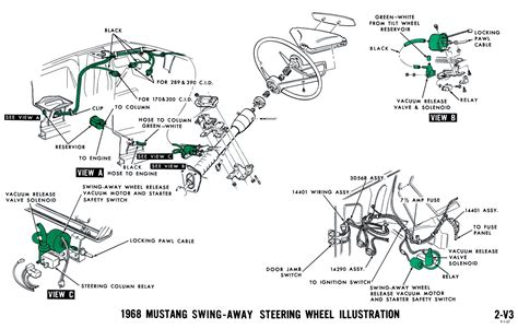 Windshield Wiper Wiring Diagram 69 Torino by 1968 Mustang Vacuum Diagrams Evolving Software