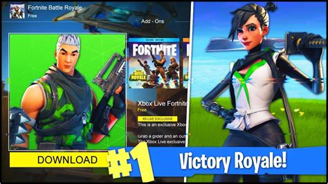new xbox one exclusive skins in fortnite battle royale fortnite v 3 3 0