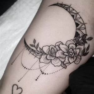 20 Amazing Moon Tattoos You Instantly Fall in Love with ...