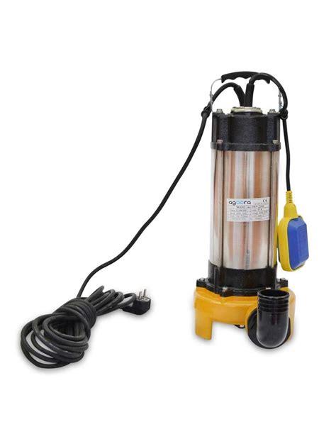 pompe eaux usées pompe submersible pour eaux charg 233 es 2200w avec lame