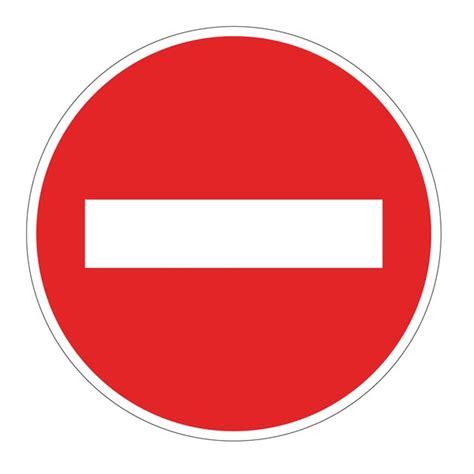 porte en bois de chambre panneau sens interdit b1 direct signalétique