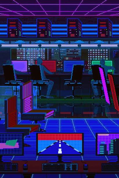 Pixel Waneella Lfg Commission Vaporwave Aesthetic Version