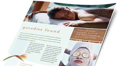 health beauty brochures flyers word publisher