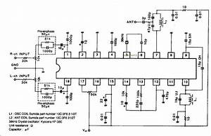 bluetooth transmitter circuit With bluetooth circuit
