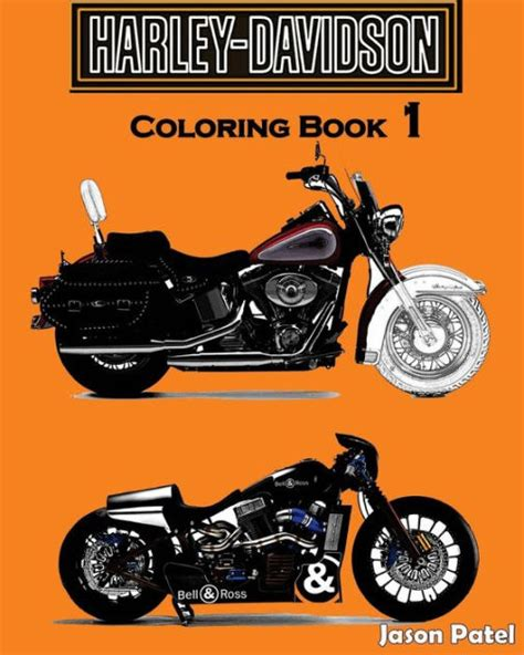 Book Harley Davidson by Harley Davidson Coloring Book 1 Sketch Coloring Book By