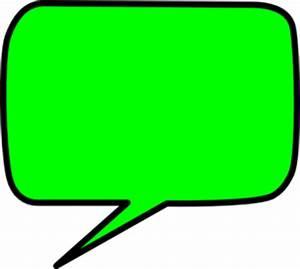 Colored Speech Bubble - ClipArt Best