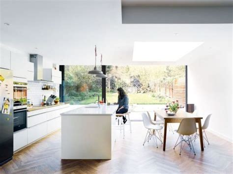 kitchen diner flooring ideas 30 spacious and airy open plan kitchen ideas digsdigs