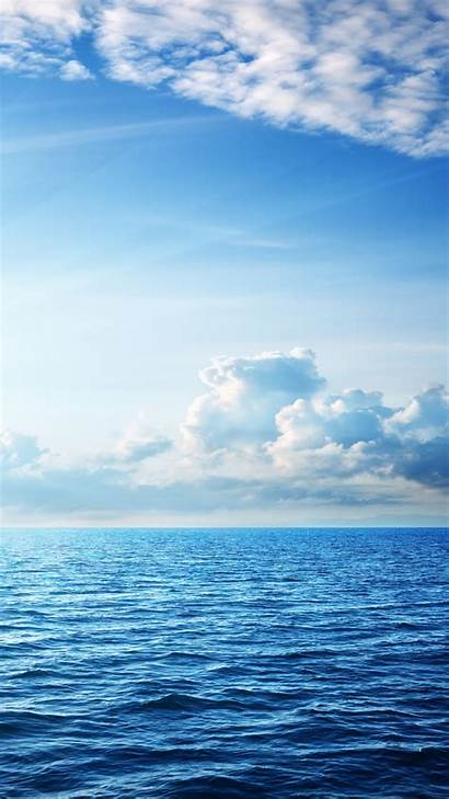Sky Ocean Sea 4k Clouds 5k Nature