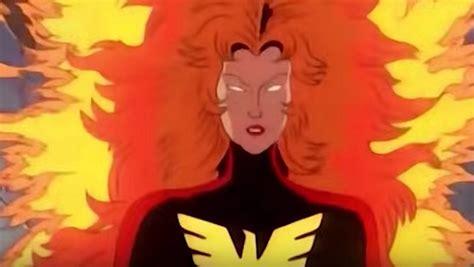 dark phoenix      men cartoon