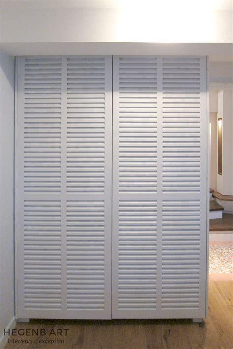 placard suspendu chambre porte de placard coulissante style persienne ks79