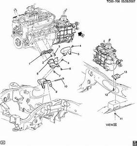 11517827  Fascia Mounting  Engine Clutch