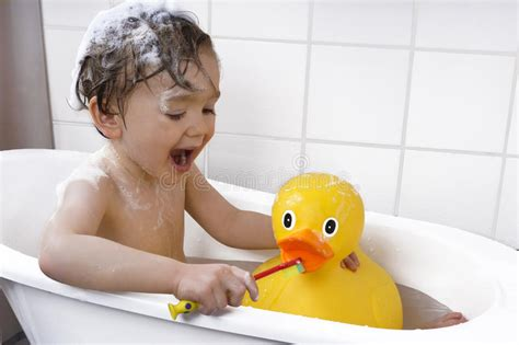 toddler in a bathtub stock of play child 49844044