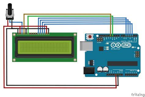lcd matrix interface with arduino mechatrofice