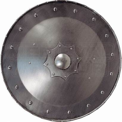 Shield Round Century 15th Medieval Shields Leather