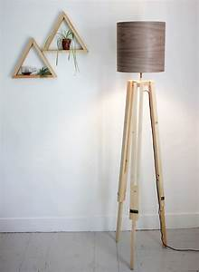 light up the living room with these 25 diy floor lamps With making a wooden floor lamp
