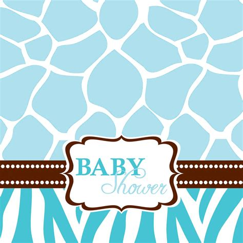 Giraffe Print Baby Shower Decorations baby shower images cliparts co
